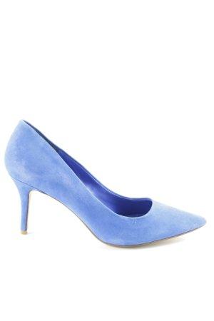 Dune Spitz-Pumps blau Elegant