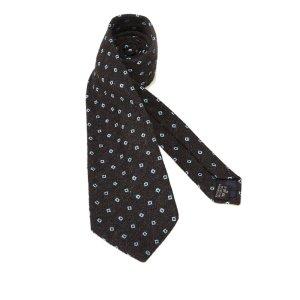 Dunhill Neckerchief black silk