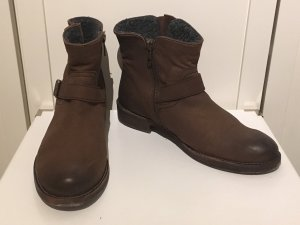 Cox Boots dark brown-brown leather
