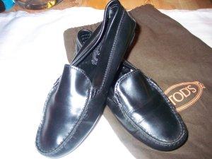 0039 Italy Chaussures noir cuir