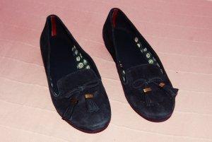 dunkel blaue Ballerinas, Größe 37 von Tommy Hilfiger