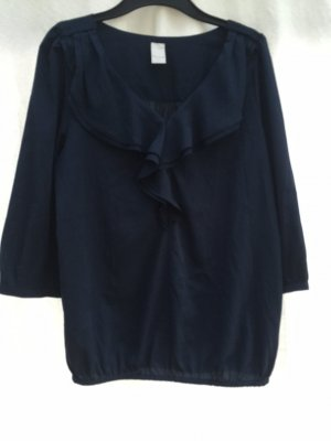 dunkel blaue Bluse von VILA Größe S