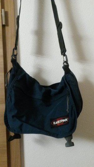 dunkel blaue grosse eastpak Tasche