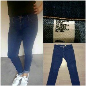 Dunkel blaue Jeans von H&M High Waist