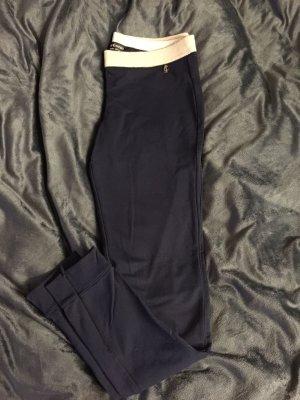 dunkel blaue Leggins mit goldenem Bund von Juicy Couture