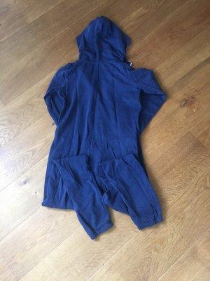 Dunkel blauer onesie