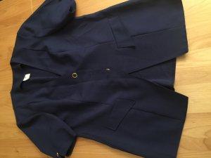 Dunkel Blauer sommerlicher Blazer mit kurzen Armen