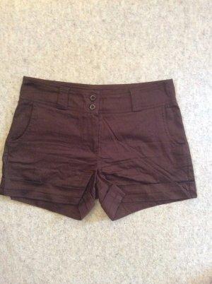 dunkel braune Hotpants von Orsay