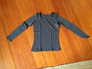 dunkel graues Langarmshirt von Marc o'Polo
