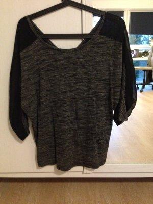 dunkel - graues / schwarzes leichtes T-shirt