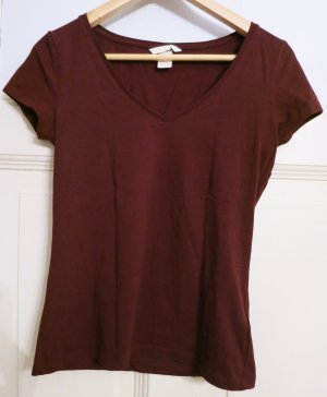 dunkel Lila T-Shirt, Gr.36