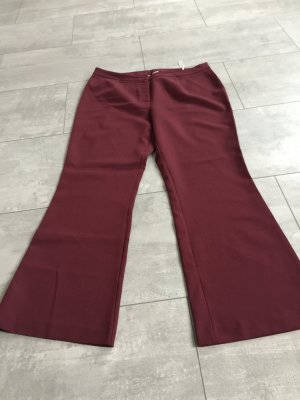Pantalon de costume bordeau