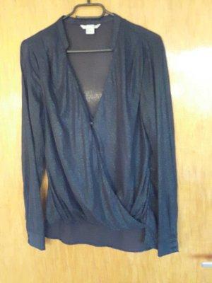 Dunkelblau Bluse von H&M
