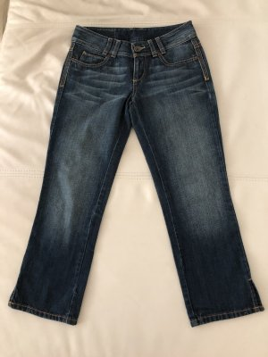 Benetton 3/4 Length Jeans dark blue