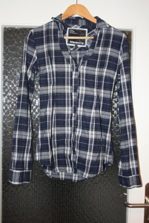 Madonna Shirt Blouse dark blue-white