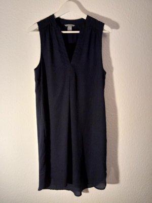 H&M Robe noir-bleu foncé