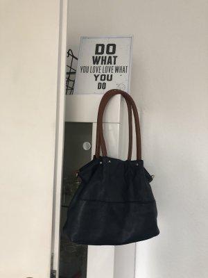 dunkelblau Tasche