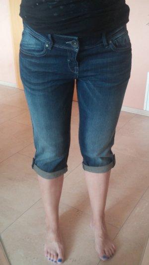 dunkelblaue 3/4 Jeans von QS s.Oliver, Gr. 36