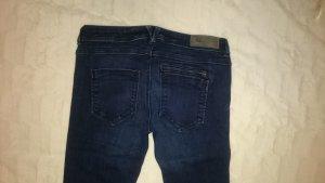 Dunkelblaue 5-Pocket Jeans von Clockhouse