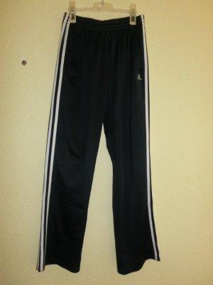 dunkelblaue Adidas Sporthose