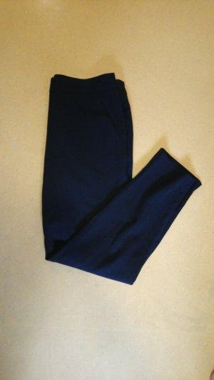 Only Pantalon à pinces bleu-bleu foncé