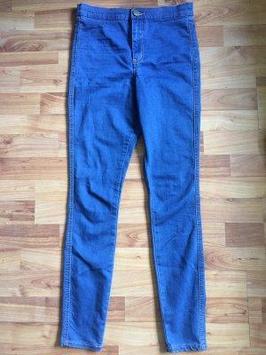 Dunkelblaue Asos high waist jeans rivington w26 L32 mit hoher Taille blau