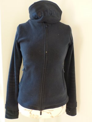 dunkelblaue Bench Fleece Jacke
