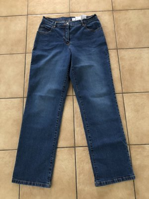 dunkelblaue / blaue Jeans von mialinea / Happysize - Gr. 42