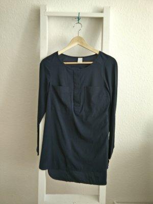 Dunkelblaue Bluse/ Blusenkleid von Vila