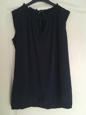 Dunkelblaue Bluse Größe 40