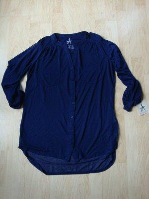 Dunkelblaue Bluse von Atmosphere, Gr. 32, neu