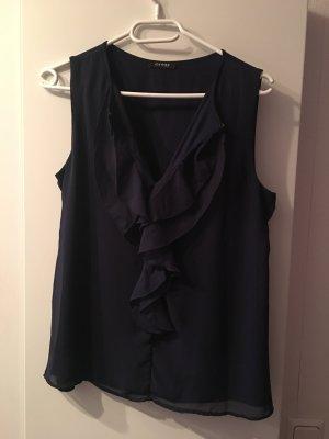 Dunkelblaue Bluse von Orsay