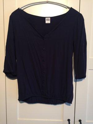 Dunkelblaue Bluse von Vero Moda - Größe M