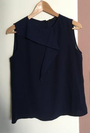 Dunkelblaue Bluse von Zara, Gr. M