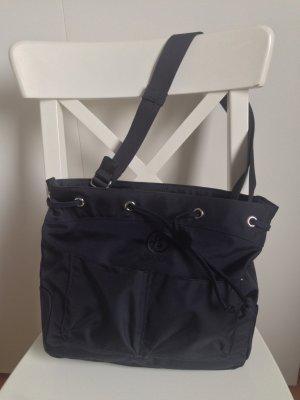 dunkelblaue Bogner Tasche aus Synthetikmaterial