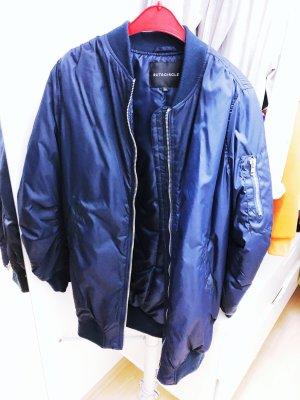 Bomberjack donkerblauw-blauw