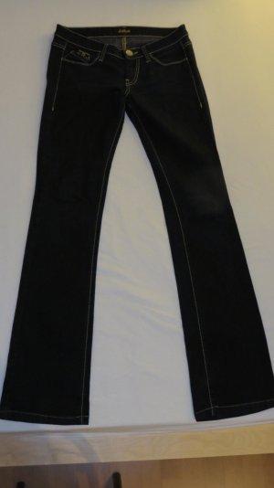 Dunkelblaue Boot Cut Jeans - Killah