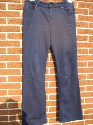 Dunkelblaue Bootcut-Jeans von C&A in Gr.44, Stretch