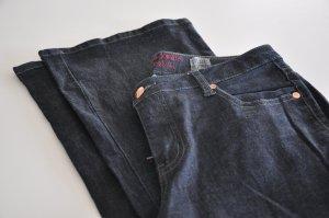 dunkelblaue Bootcut Jeans von Vera Moda