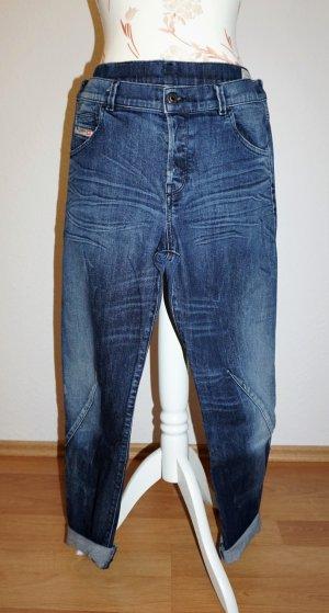 Diesel Jeans boyfriend blu-blu scuro Cotone