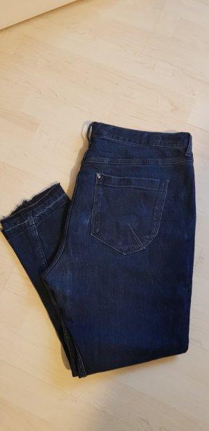 H&M Jeans boyfriend blu scuro