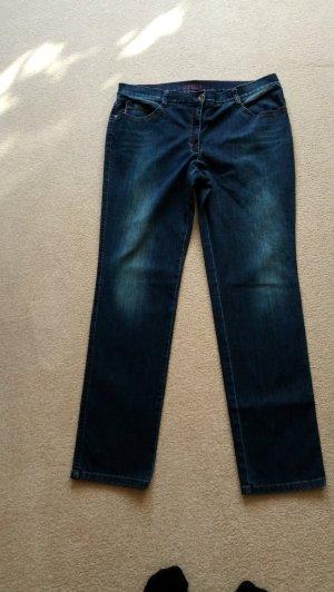 Dunkelblaue BRAX-Jeans Feel Good Gr. 46