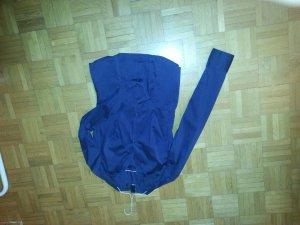 dunkelblaue Büro-Bluse