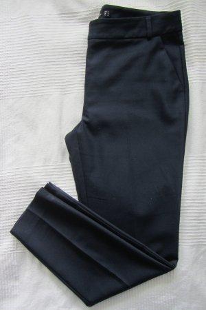 dunkelblaue Bundfaltenhose von Hallhuber, 40