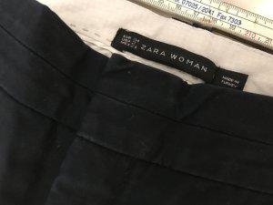 Zara Pantalon 3/4 bleu-bleu foncé