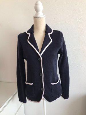 Tommy Hilfiger Knitted Blazer white-dark blue