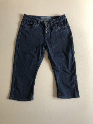 s.Oliver 3/4 Length Jeans dark blue