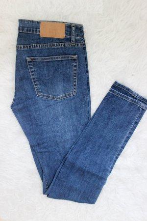 Dunkelblaue Cheap Monday Slim Credit Dark Blue Jeans 26/32 S