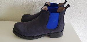 van der Laan Chelsea Boot bleu-bleu foncé