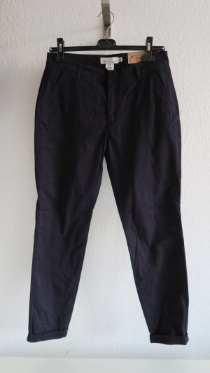 H&M Chinos dark blue cotton